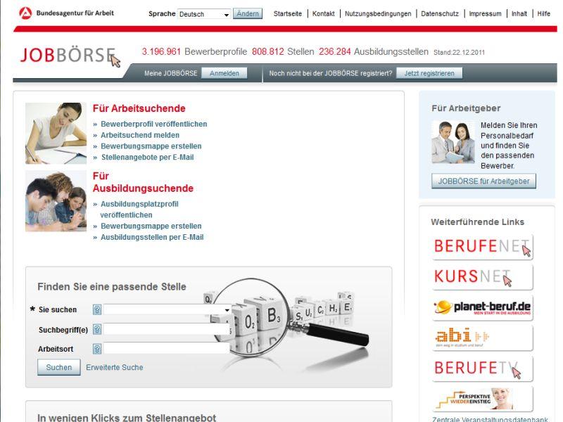 Arbeitsagentur München Jobbörse